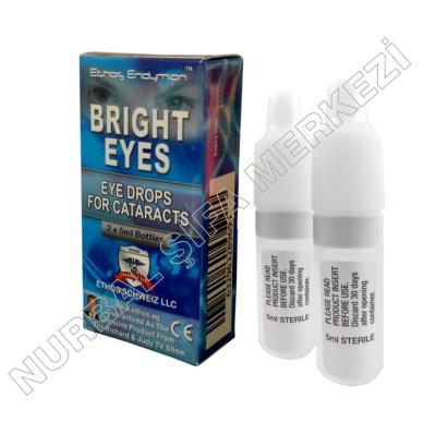 Bright Eyes Ethos Katarakt Damlası  2x5ml şişe