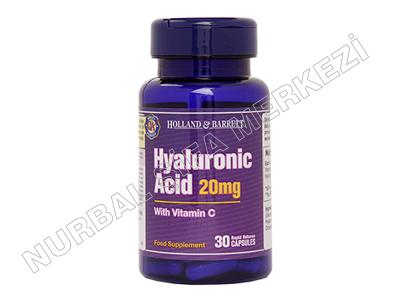 Hyaluronic ACID 20MG 30 Kapsül
