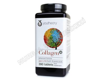 Kolajen Collagen Tip 1-2-3 390 tablet