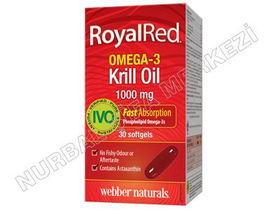 Krill Yağı Royal Red 1000 mg